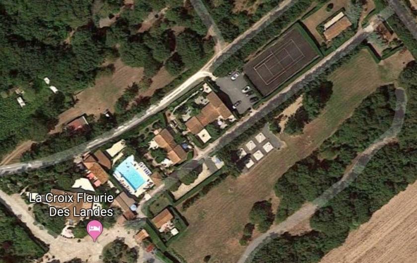 Location de vacances - Gîte à Saint-Pierre-d'Oléron - Vue aérienne