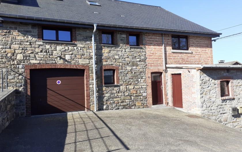 Location de vacances - Gîte à Stavelot - salle à manger