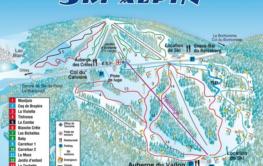 Location de vacances - Chalet à Osenbach - Station de ski du Lac Blanc a 30 min