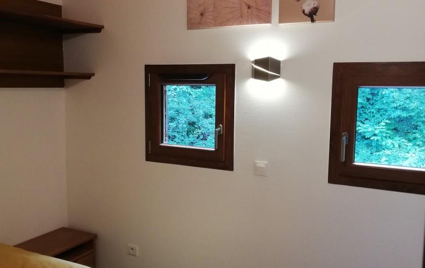 Location de vacances - Chalet à Osenbach - Chambre 3 a l'étage avec un lit double 140x190