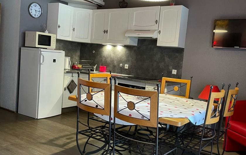 Location de vacances - Chalet à Osenbach - Coin salon