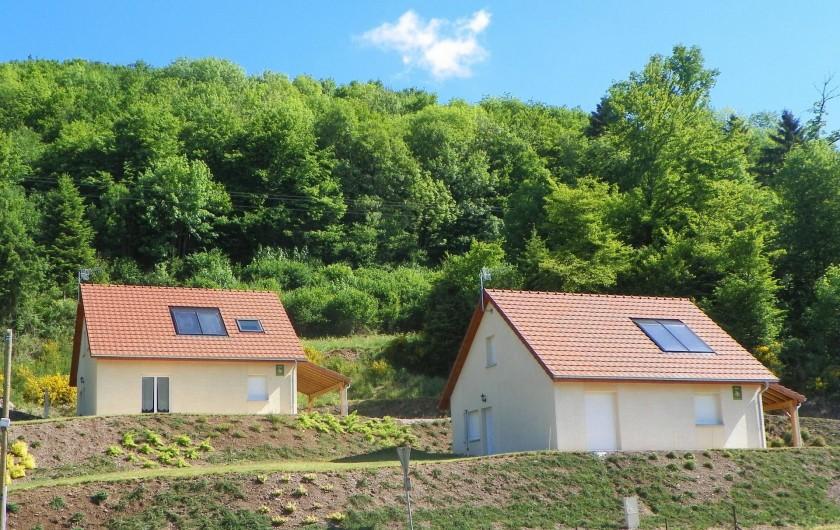 Location de vacances - Chalet à Rupt-sur-Moselle - les deux maisons