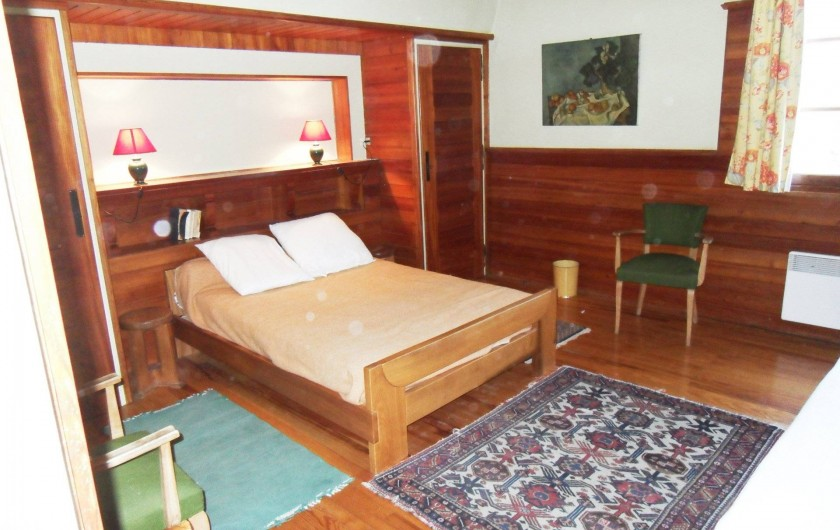 Location de vacances - Chalet à Saint-Bonnet-en-Champsaur - Chambre 20 m2 N°2 (1 ér étage)