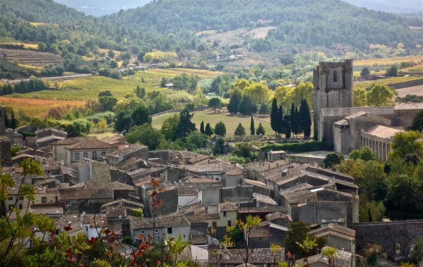 Location de vacances - Gîte à Lagrasse - Lagrasse, un des plus beau village de France
