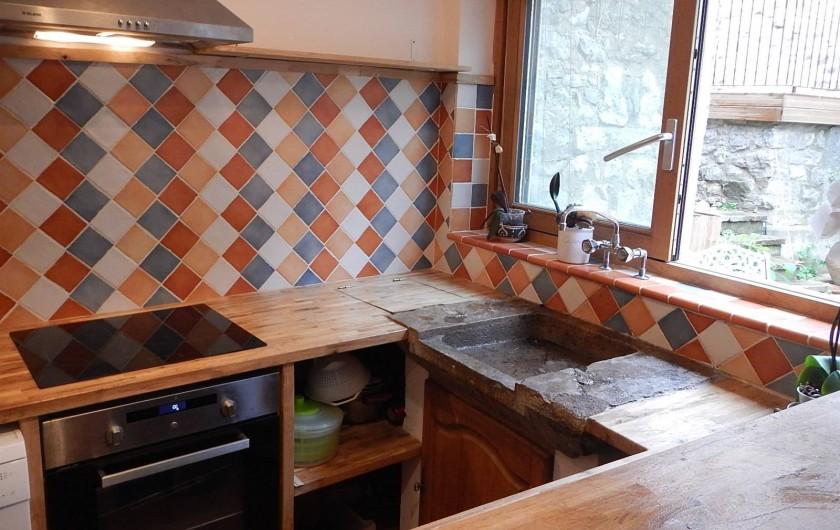 Location de vacances - Gîte à Lagrasse - Cuisine