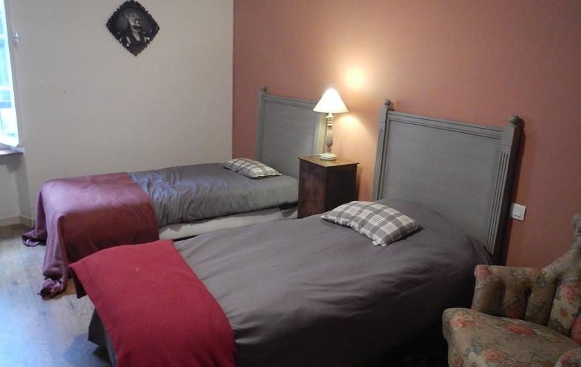 Location de vacances - Gîte à Lagrasse - Chambre à petits lits