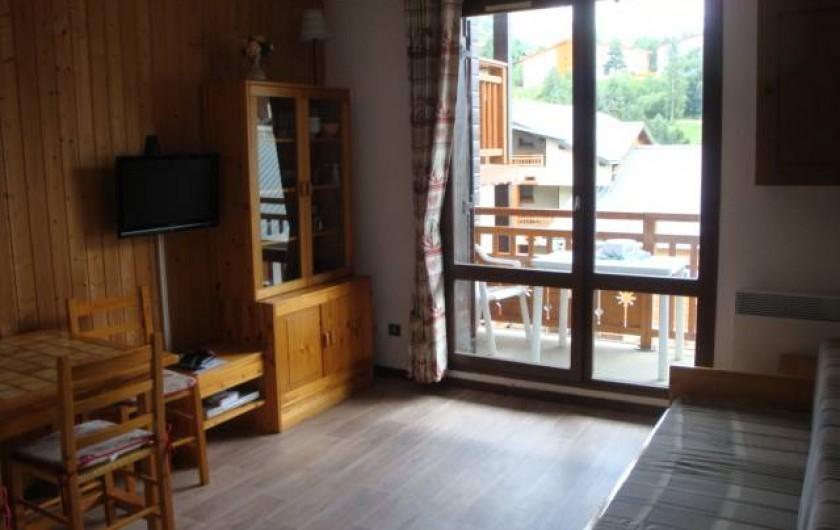 Location de vacances - Appartement à Les Deux Alpes - Séjour