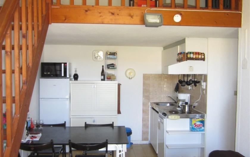 Location de vacances - Maison - Villa à Port Leucate - Salle à manger