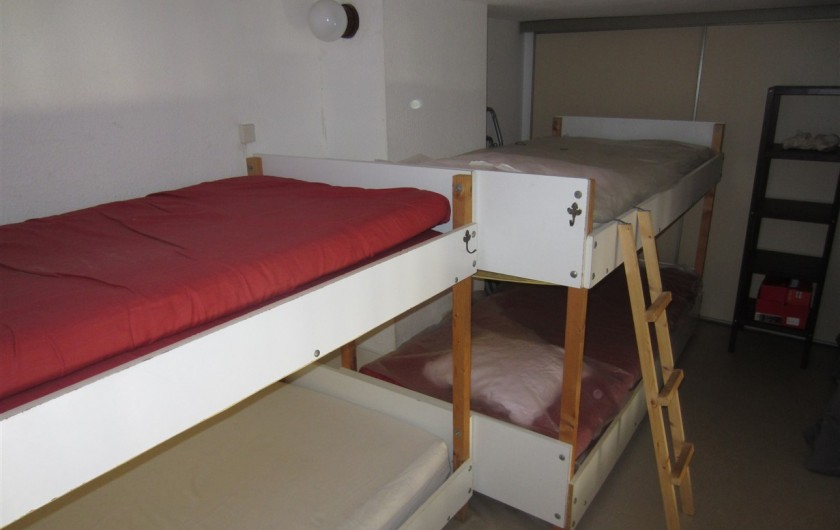 Location de vacances - Maison - Villa à Port Leucate - Chambre en mézanine