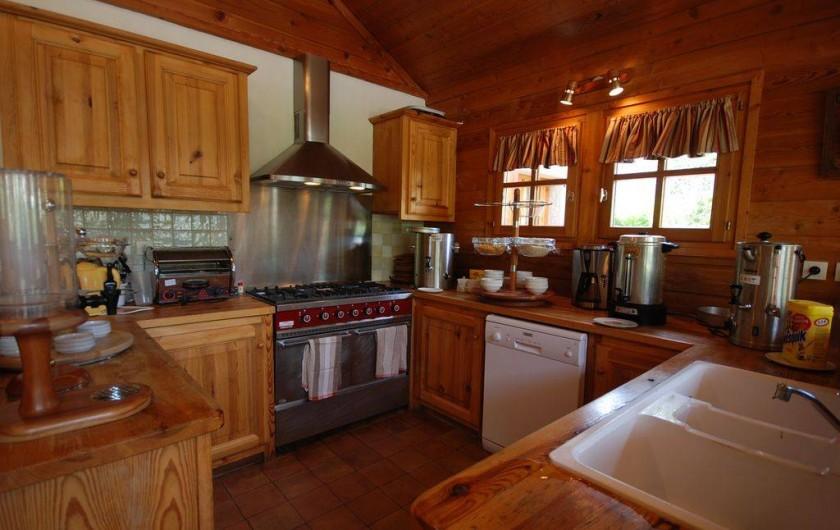 Location de vacances - Chalet à La Salle-les-Alpes - cuisine