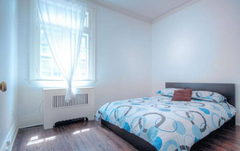Location de vacances - Appartement à Montréal - Chambre 3 avec vue sur la rue
