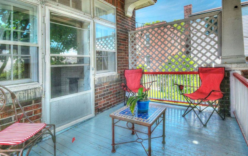 Location de vacances - Appartement à Montréal - La terrasse privée de votre logement