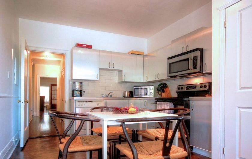 Location de vacances - Appartement à Montréal - Cuisine