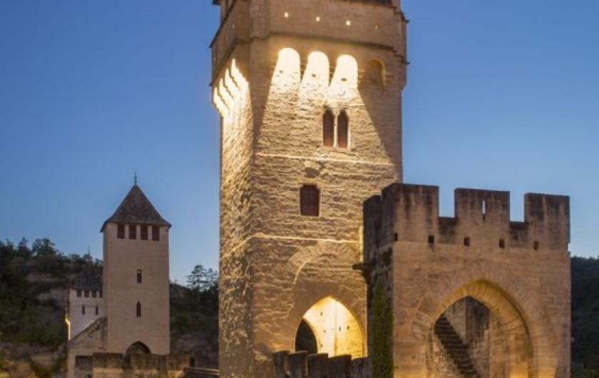 Location de vacances - Chalet à Mauroux - Pont de Valentré à Cahors