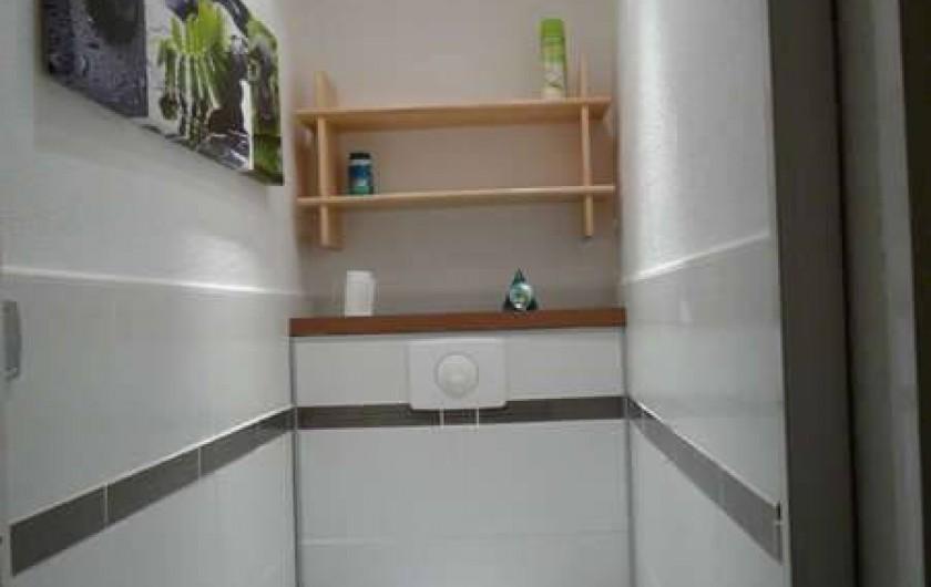 Location de vacances - Appartement à Le Corbier - WC indépendant