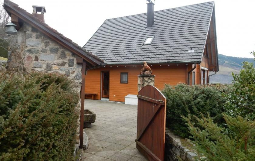 Location de vacances - Chalet à Fellering - Exterieur 2