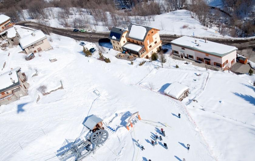 Location de vacances - Chalet à Valmeinier - Accès télésiège de la Girodière