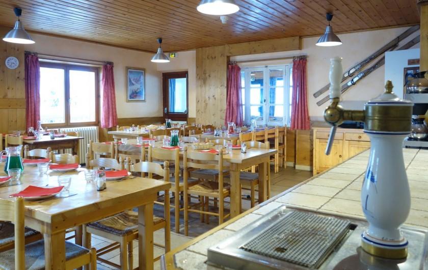 Location de vacances - Chalet à Valmeinier - Cuisine traditionnelle et familiale