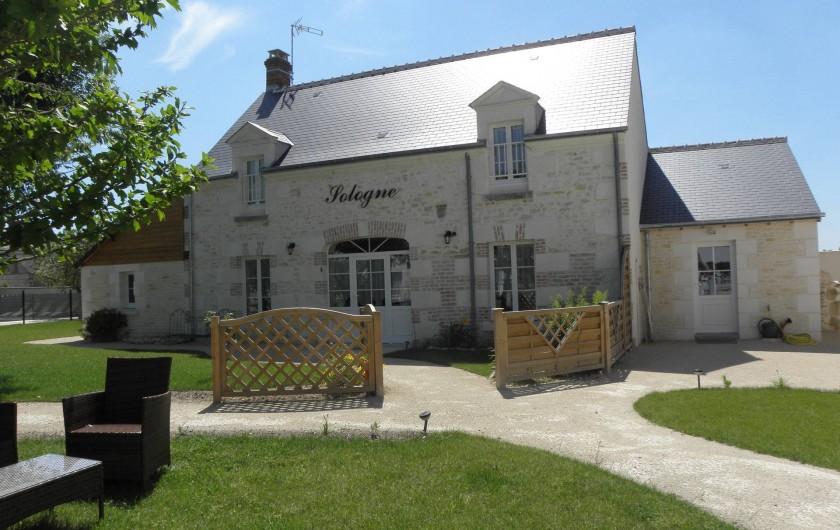 """Location de vacances - Gîte à Châtillon-sur-Cher - GITE """"SOLOGNE"""""""