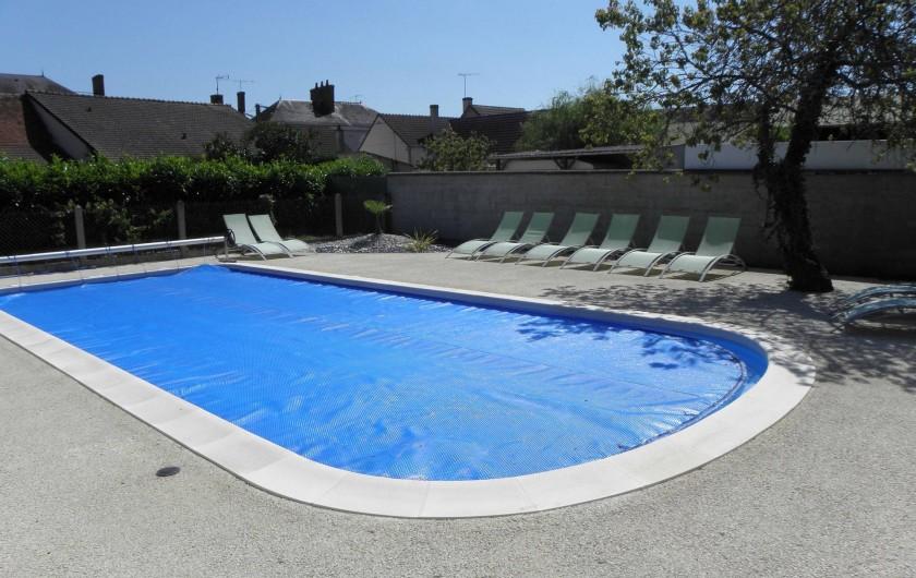 Location de vacances - Gîte à Châtillon-sur-Cher - PISCINE 5x10
