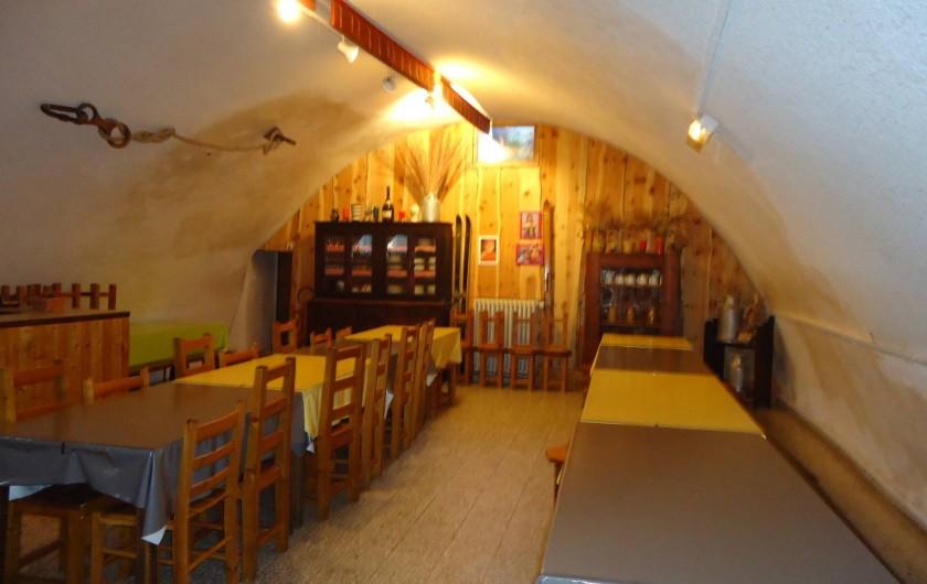 Location de vacances - Gîte à Le Monêtier-les-Bains - notre salle à manger