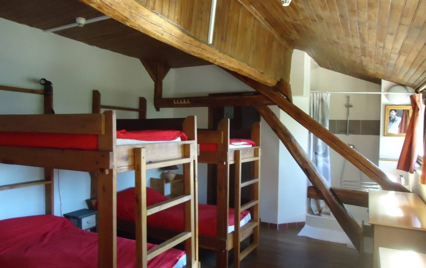Location de vacances - Gîte à Le Monêtier-les-Bains - chambre avec douche