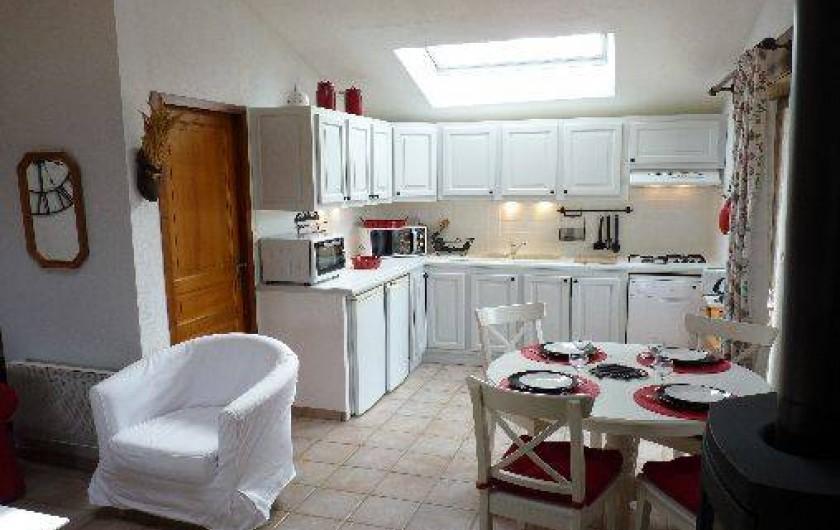 Location de vacances - Villa à Labeaume - cuisine