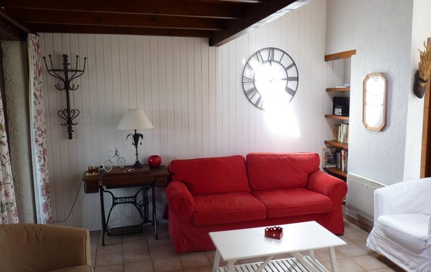 Location de vacances - Villa à Labeaume - Coin salon