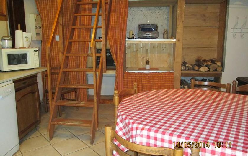 Location de vacances - Gîte à Montendry