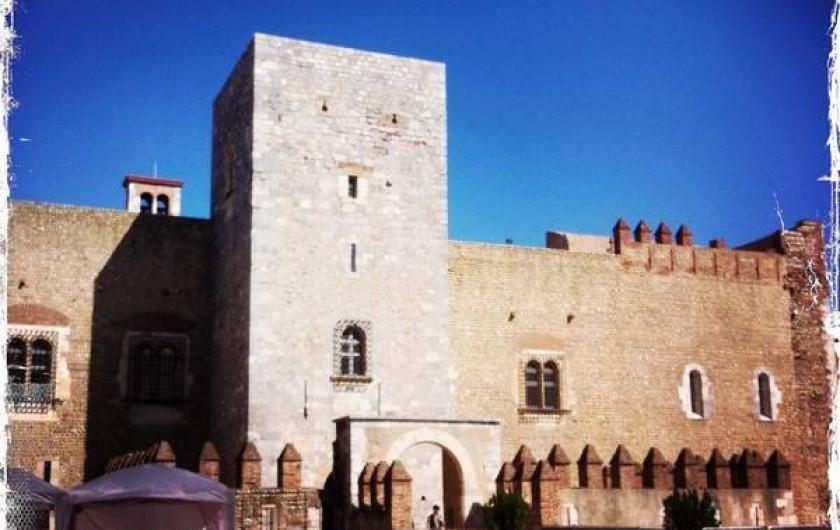 Location de vacances - Appartement à Bompas - à visiter près de chez nous, le palais des Rois de Majorque dans Perpignan