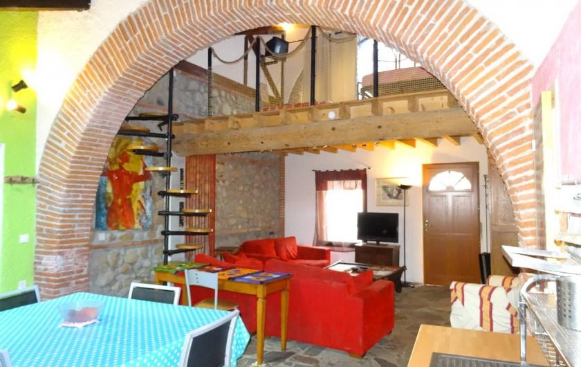 Location de vacances - Appartement à Bompas - duplex