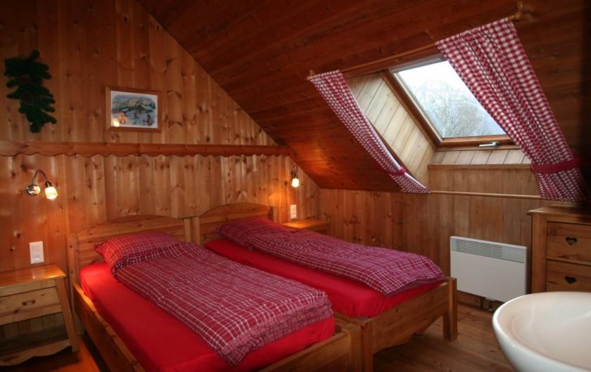 Location de vacances - Chalet à Puy-Saint-Vincent - Chambre twin