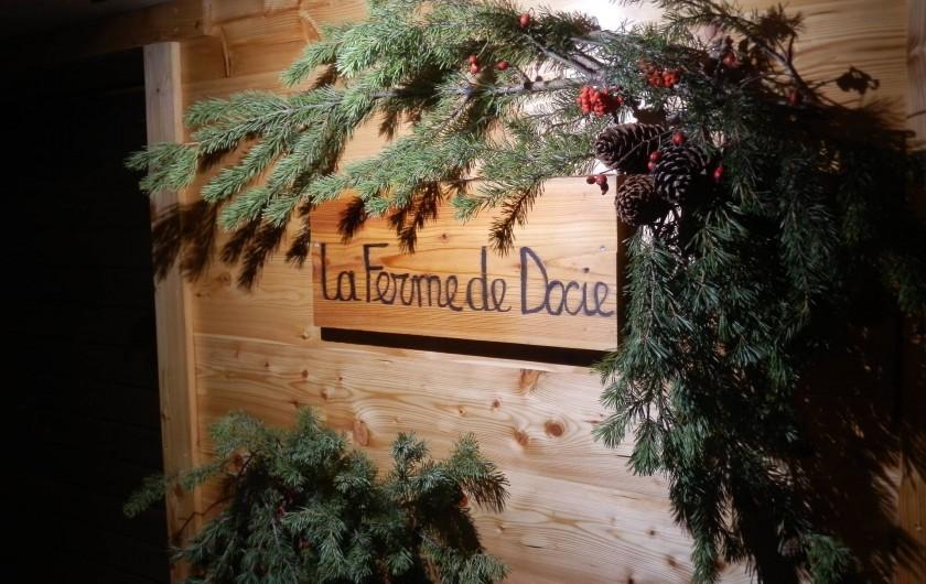 Location de vacances - Chalet à Puy-Saint-Vincent - Le panneau d'entrée