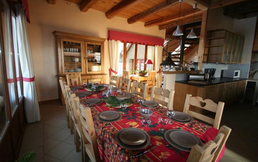 Location de vacances - Chalet à Puy-Saint-Vincent - Le Coin Repas