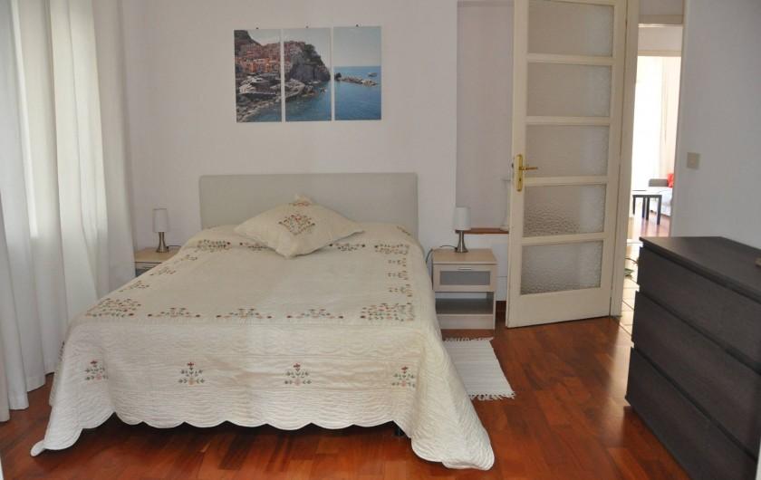 Location de vacances - Appartement à Ospedaletti - Chambre matrimoniale