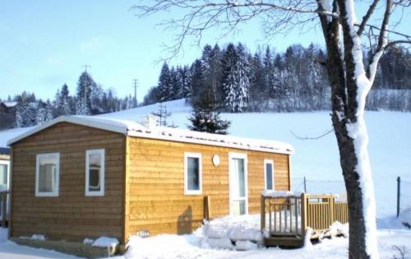 Location de vacances - Camping à Les Hôpitaux-Neufs - Mobil-home