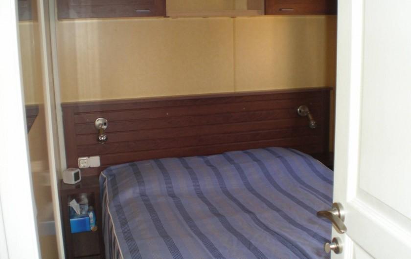 Location de vacances - Bungalow - Mobilhome à Argelès-sur-Mer - chambre 1