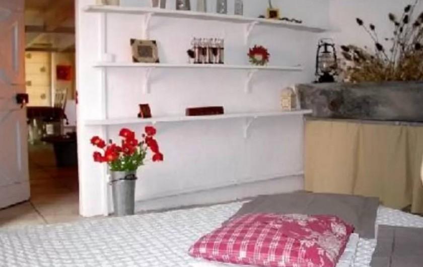 Location de vacances - Maison - Villa à Agde - chambre du rez de chaussée