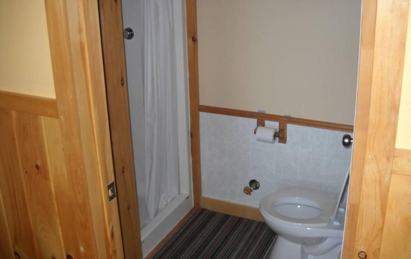 Location de vacances - Chalet à Gracefield - Toilette tipique