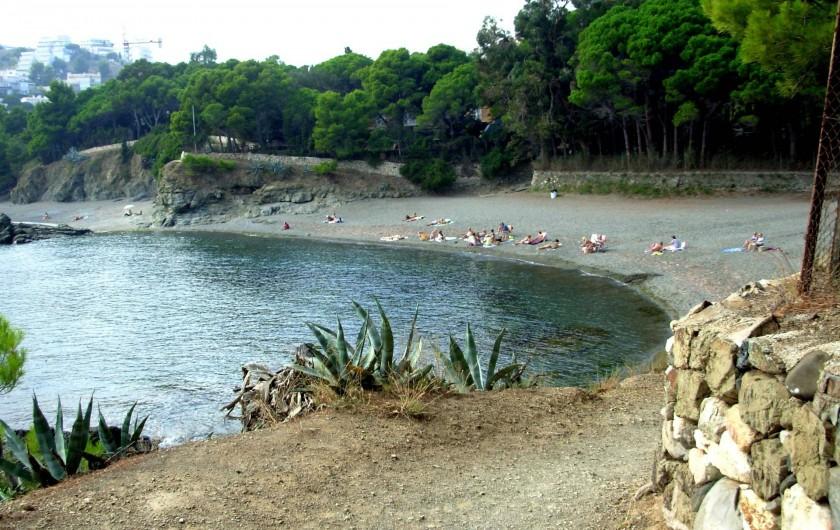 """Location de vacances - Maison - Villa à Llançà - Plage """"Tonynes"""""""