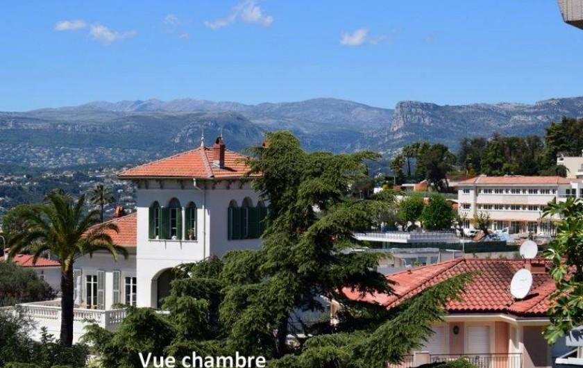 Location de vacances - Appartement à Nice - La vue du balcon de la chambre