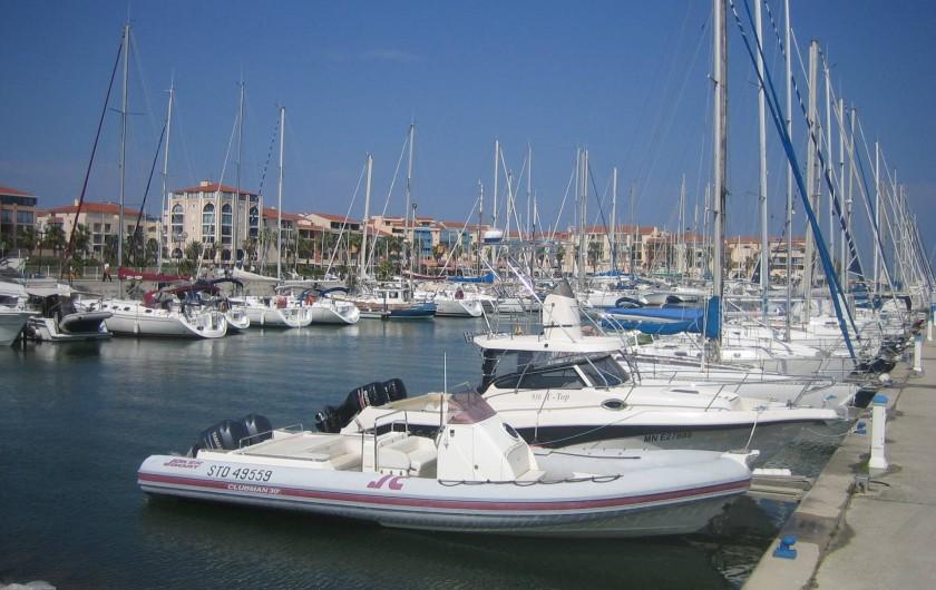 Location de vacances - Appartement à Argelès-sur-Mer - Port d'Argelès