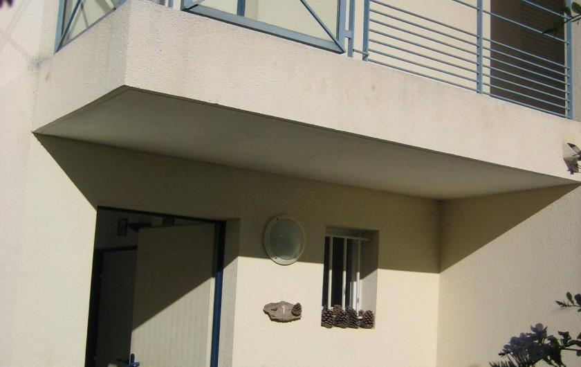 Location de vacances - Appartement à Argelès-sur-Mer - entrée de l'appartement