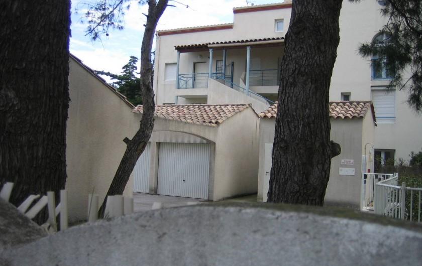 Location de vacances - Appartement à Argelès-sur-Mer - Résidence  avec parking privé