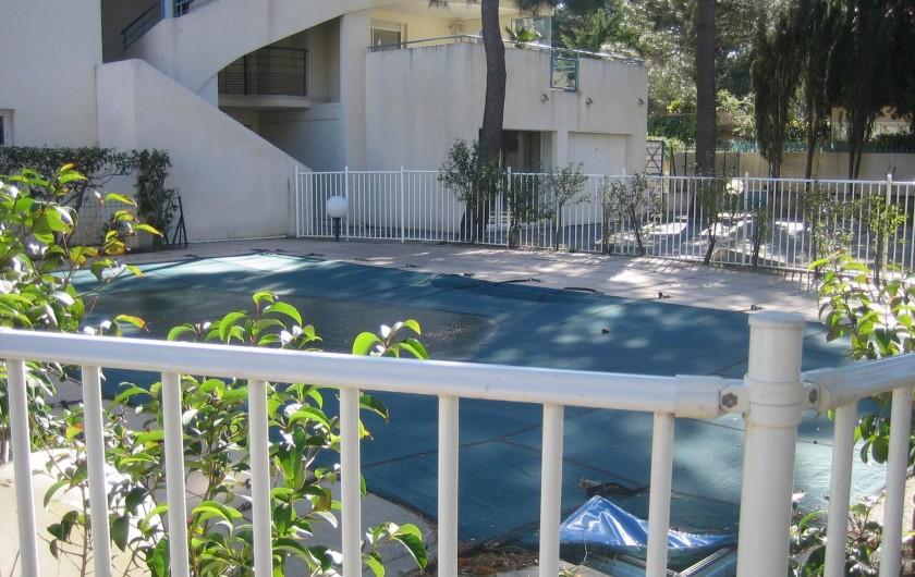 Location de vacances - Appartement à Argelès-sur-Mer - piscine de 10 m sur 5m