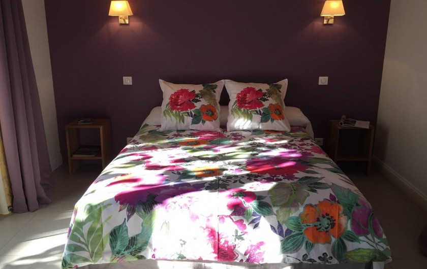 Location de vacances - Chambre d'hôtes à Carsac-Aillac - Chambre Lilas.