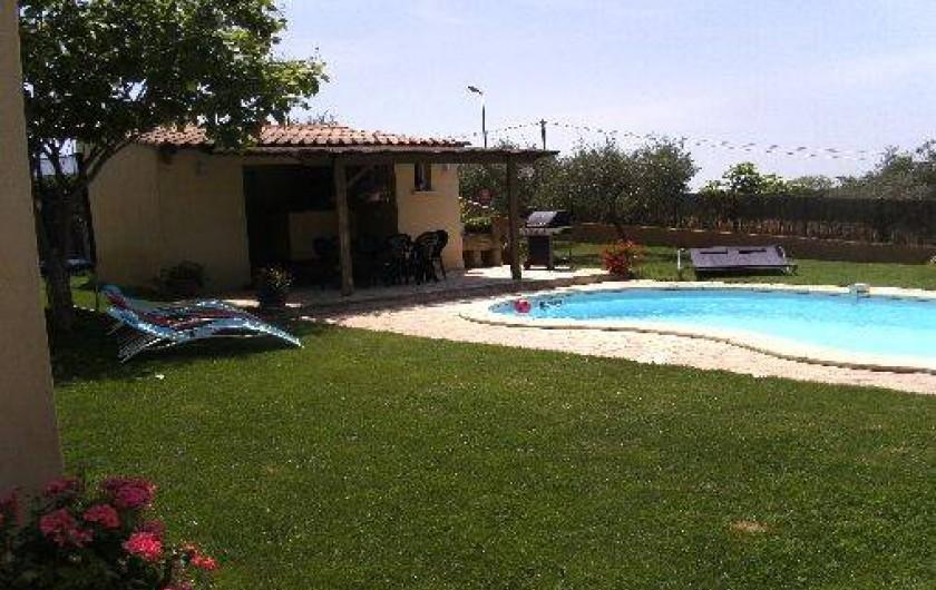 Location de vacances - Villa à Saint-Jean-de-Ceyrargues