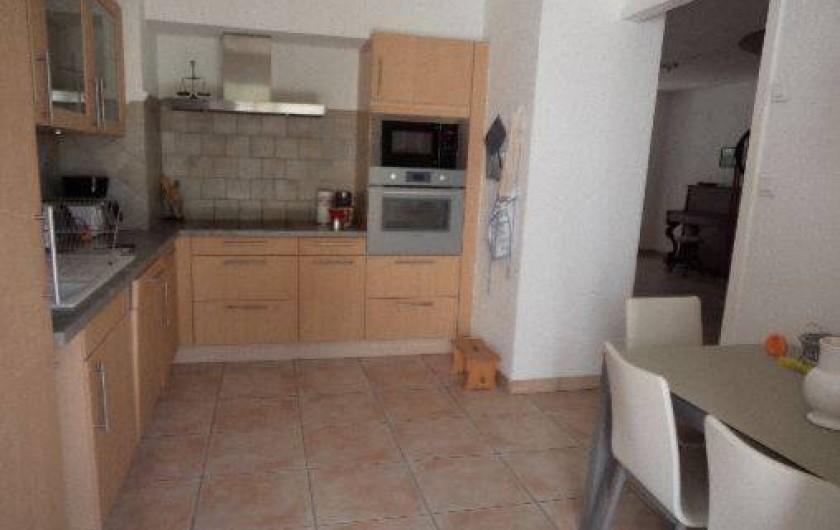 Location de vacances - Villa à Sète - cuisinechambre