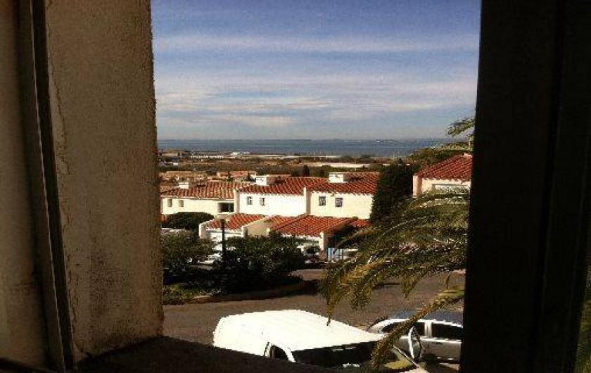 Location de vacances - Villa à Sète - Vue de la chambre 2