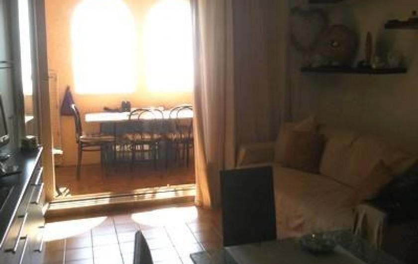 Location de vacances - Appartement à Cerbère - la terrasse